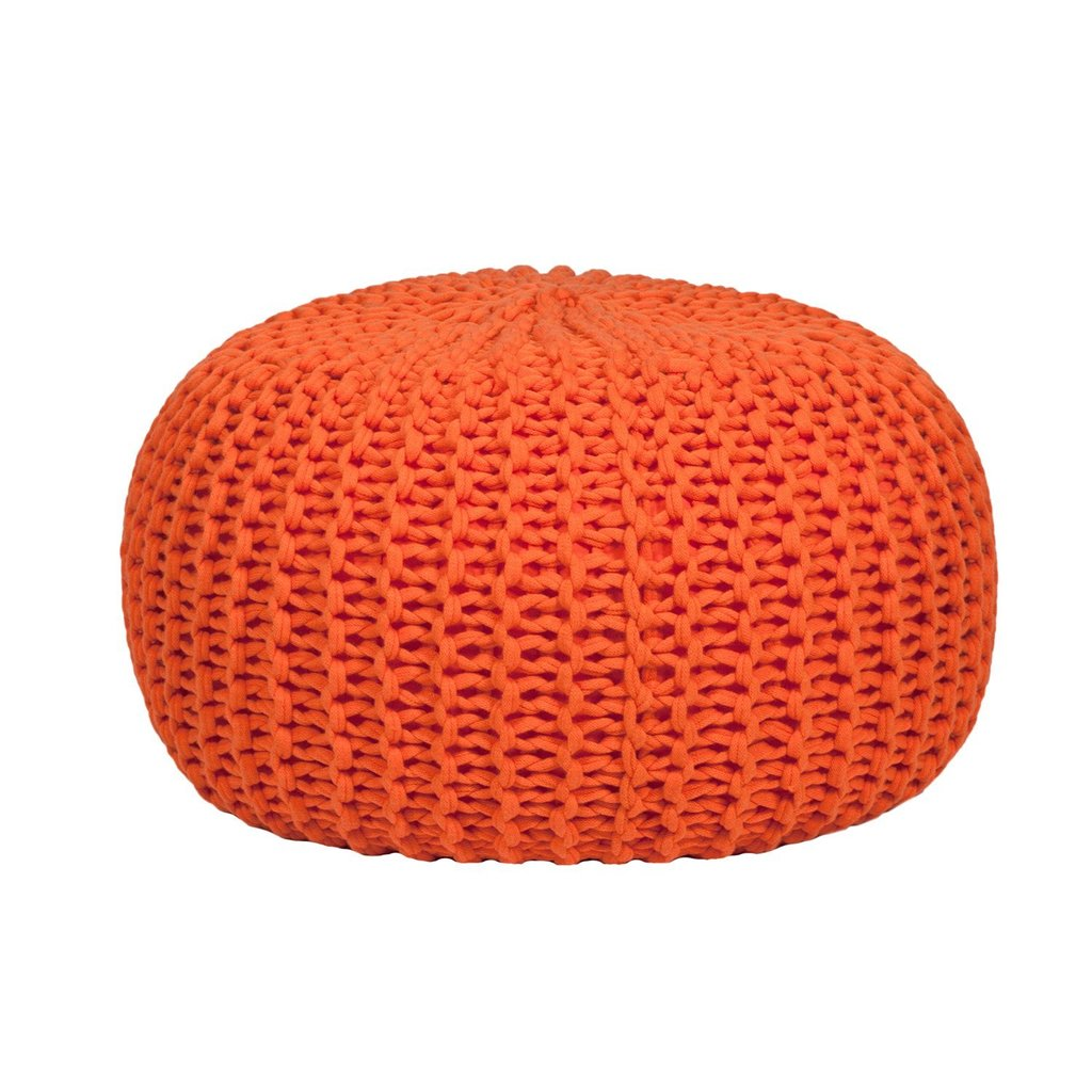 Image of: Ottoman Pouf Target Kelsey Pouf Ottoman Brown Jla Home Target Kelsey Pouf Ottoman Grey Target Coral Baby Bedding and Accessories