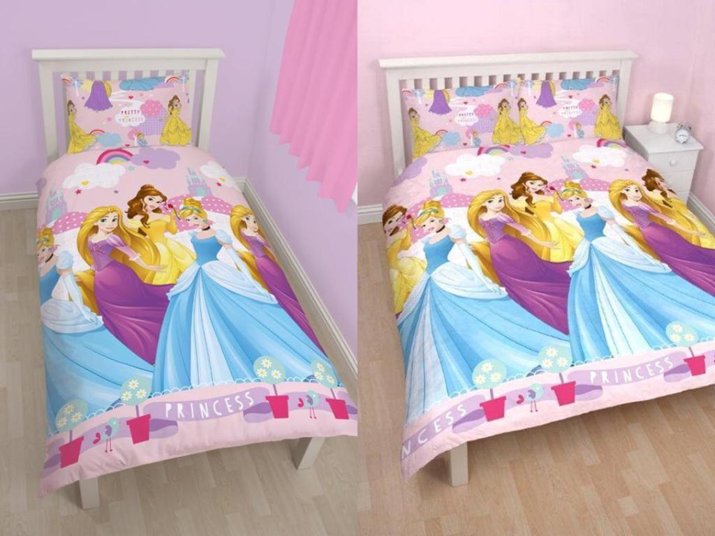Image of: Princess And Astronaut Bedding Double