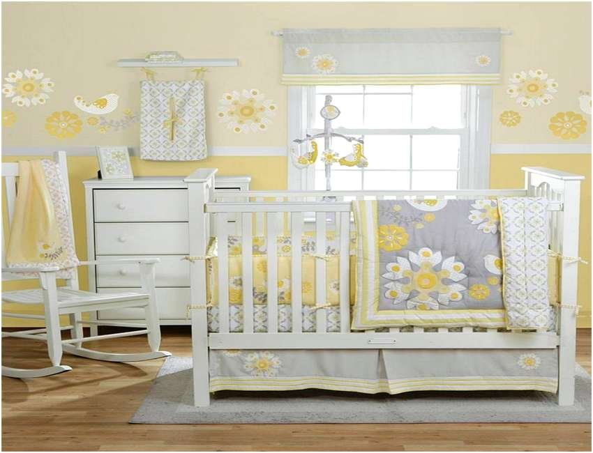 Image of: Solid Grey Crib Bedding Set Home Design Remodeling Idea Coral Baby Bedding and Accessories