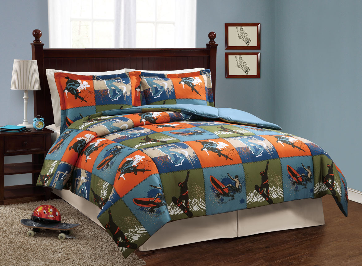 Image of: Sports Boy Bed