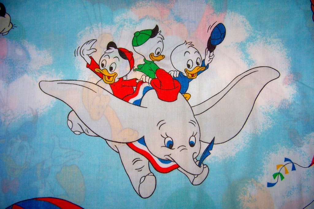 Image of: Vintage Disney Twin Bed Sheets Fabric Mickey Mouse Dumbo How to Princess Twin Bed Set