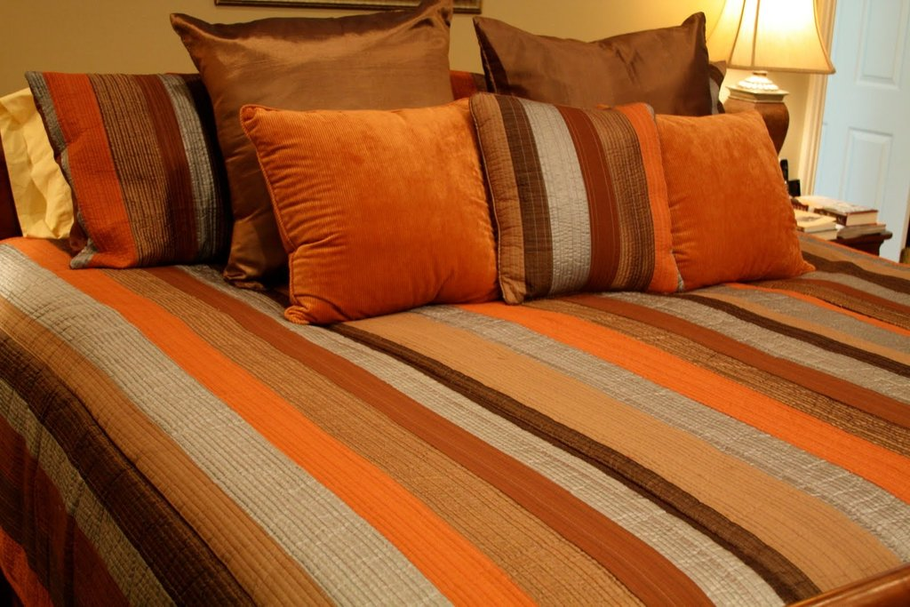 Image of: 18 Wooden Bed Design Catalogue Home Home Furniture Orange Bedding Sets And Covers