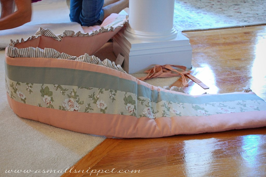 Image of: 84 Making Crib Bumper 15 Upcycle Bed Beautiful Baby Crib Bedding Sets For Girls