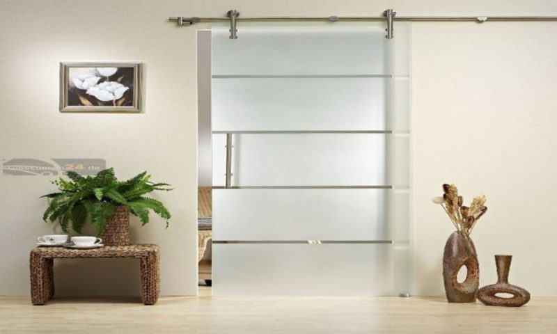 Image of: Armoire With Frosted Glass Door