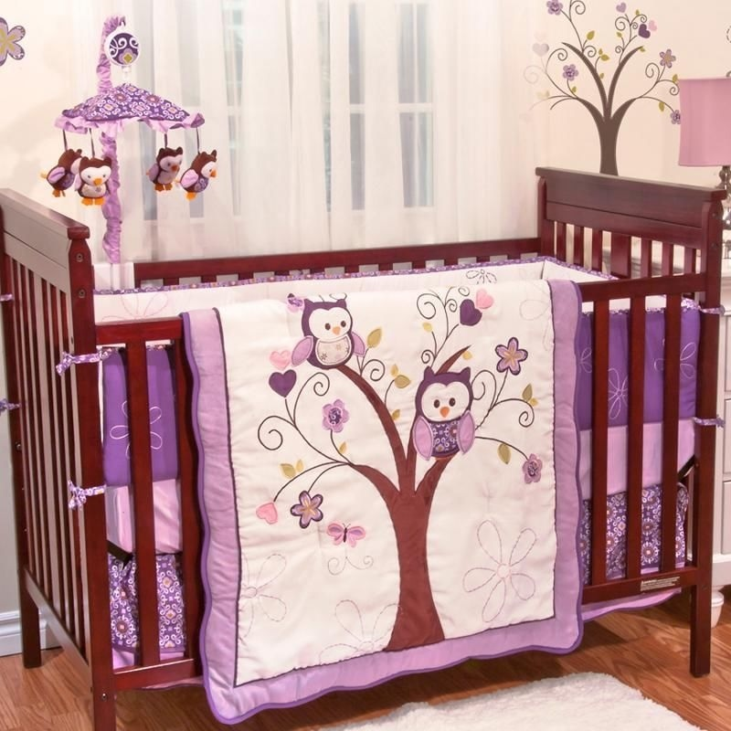 Image of: Baby Bedding Girls Themes