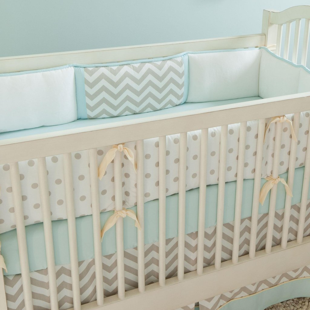 Image of: Baby Boy Crib Bedding Image Creative Idea Baby Crib Turquoise Bedding Set For Baby Theme