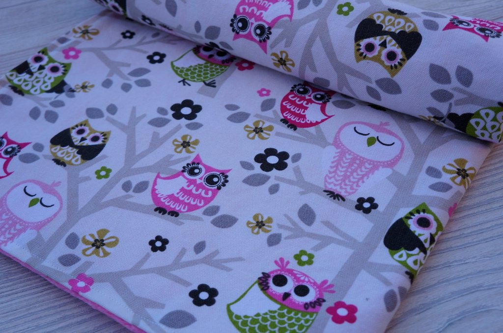 Image of: Baby Girl Owl Bedding Owl Sunflower Baby Girl Bedding Set Item Include Quilt Bed Decorate Owl Baby Bedding Ideas