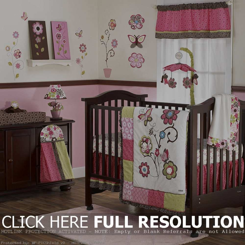 Image of: Beautiful Baby Crib Bedding Set Girl Design Beautiful Baby Crib Bedding Sets For Girls