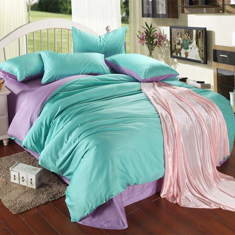Image of: Best Coral And Teal Bedding Sets
