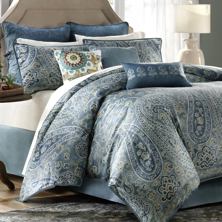 Image of: Blue Green Bedding Decorate Blue and Green Bedding Sets