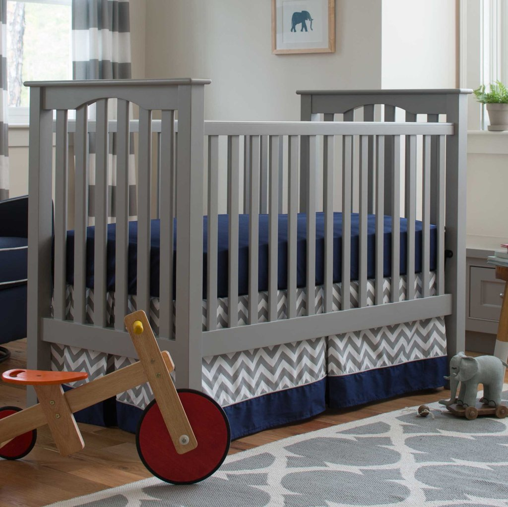 Image of: Boy Baby Crib Bedding Navy Gray Elephant 2 Piece Crib Yellow Bedding Sets For Baby Bed