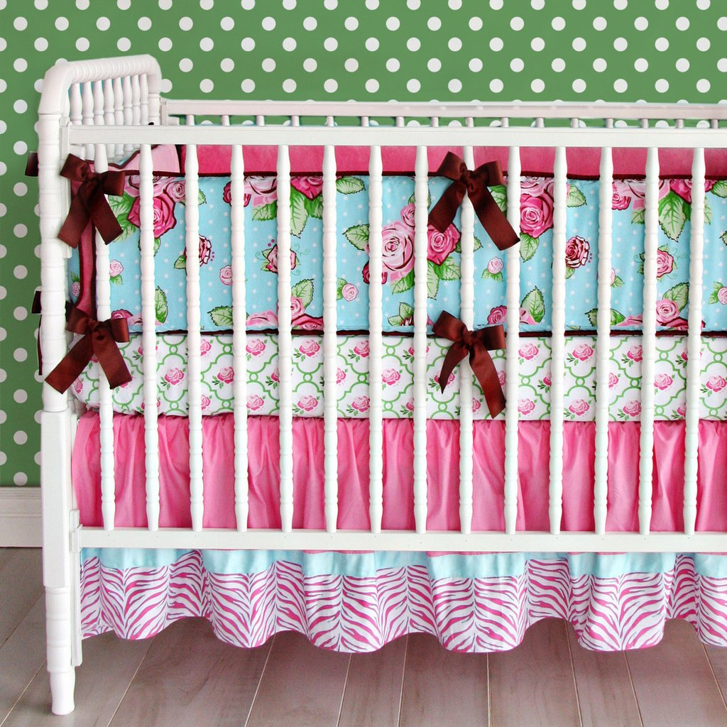 Image of: Bright Colored Boy Crib Bedding Bedding Queen Beautiful Baby Crib Bedding Sets For Girls