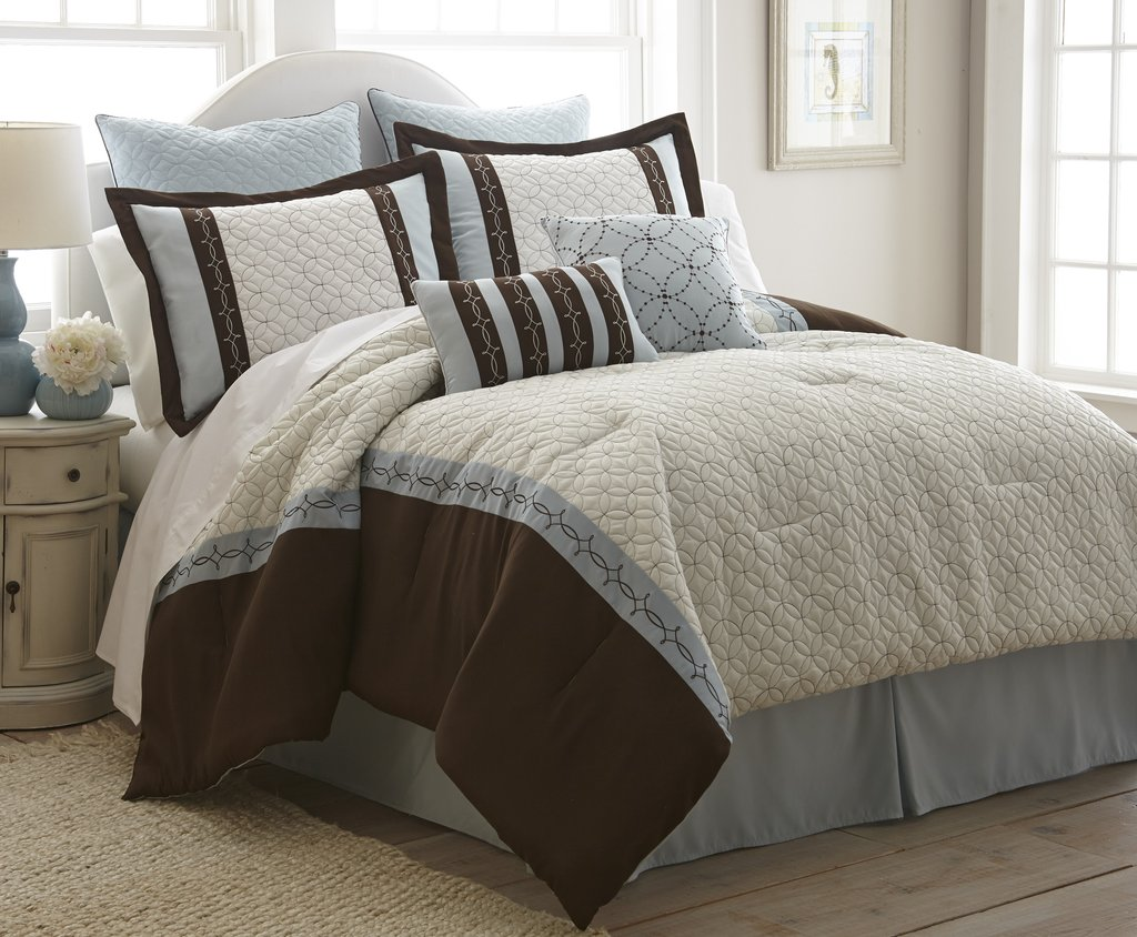 Image of: Brown Comforter Set 28 Image Total Fab Bright Orange Bedding Sets And Covers