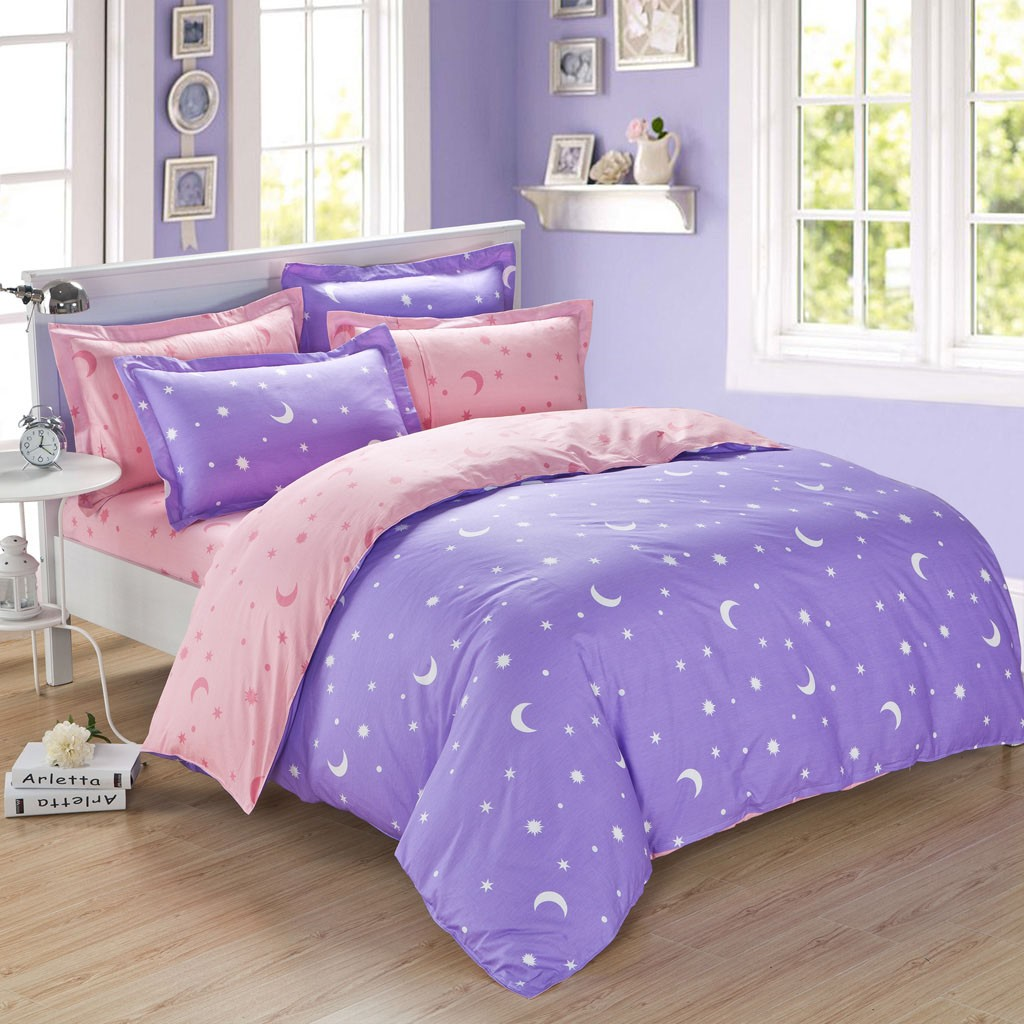 Image of: Celestial Sun and Moon Bedding