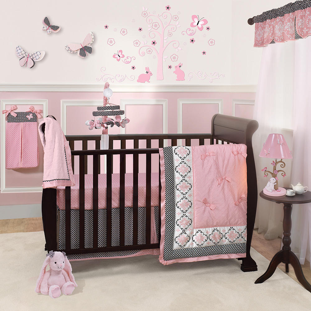 Image of: Crib Baby Girls Room