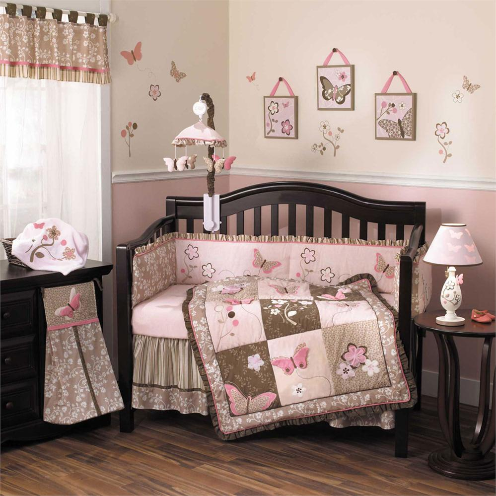 Image of: Elegant Crib Bedding