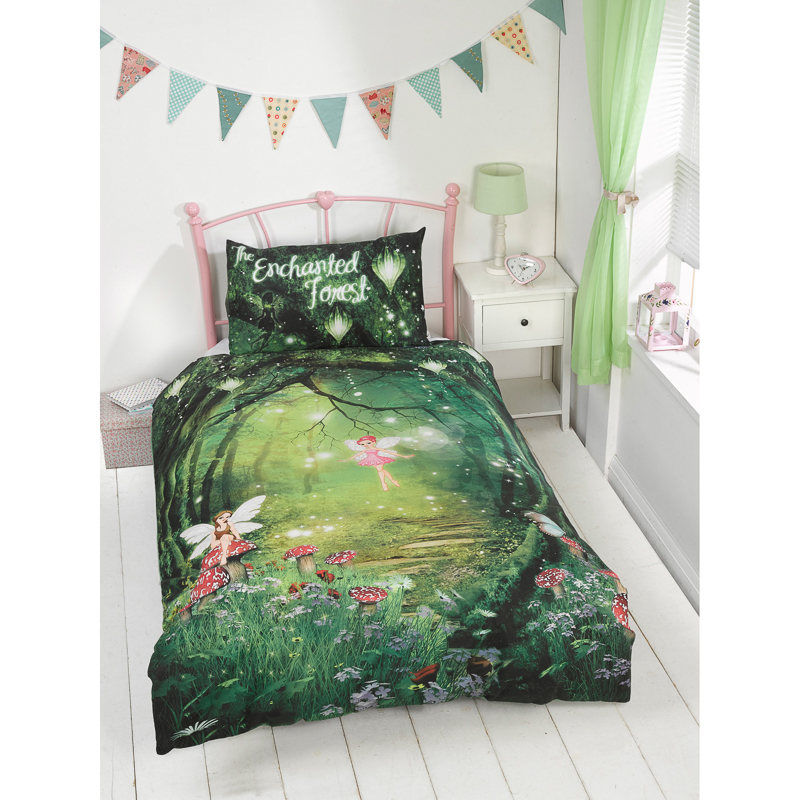 Image of: Forest Glow in the Dark Bedding