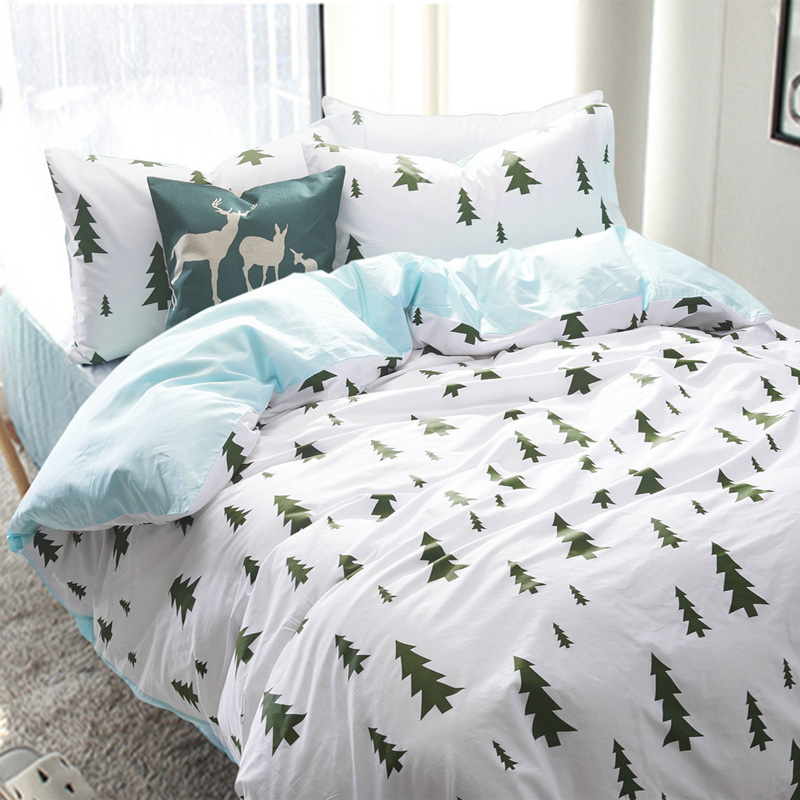 Image of: Forest Tree Bedding