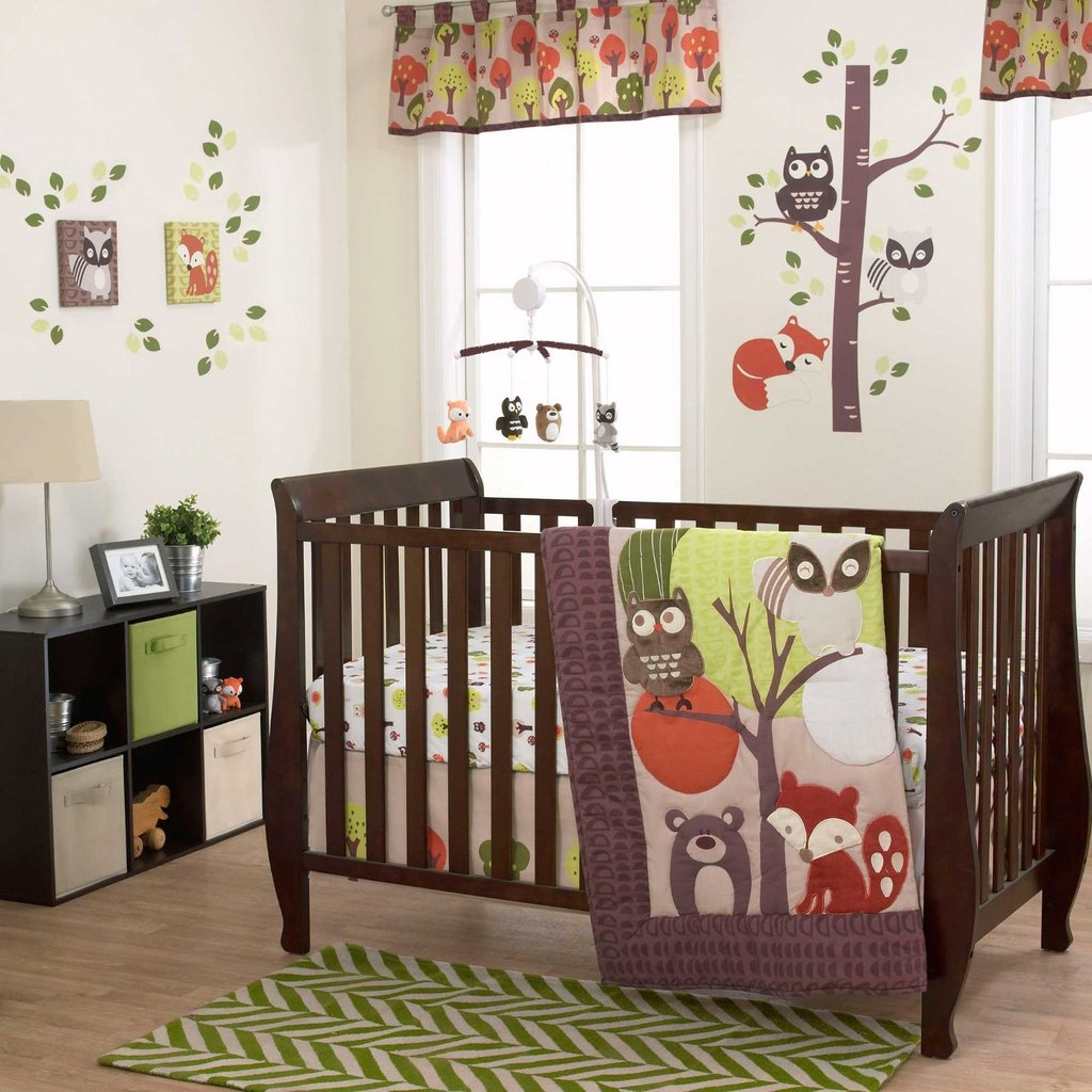 Image of: Friend Crib Bedding 28 Image Baby Bedding Set Create A Beautiful Forest Bed Set Theme