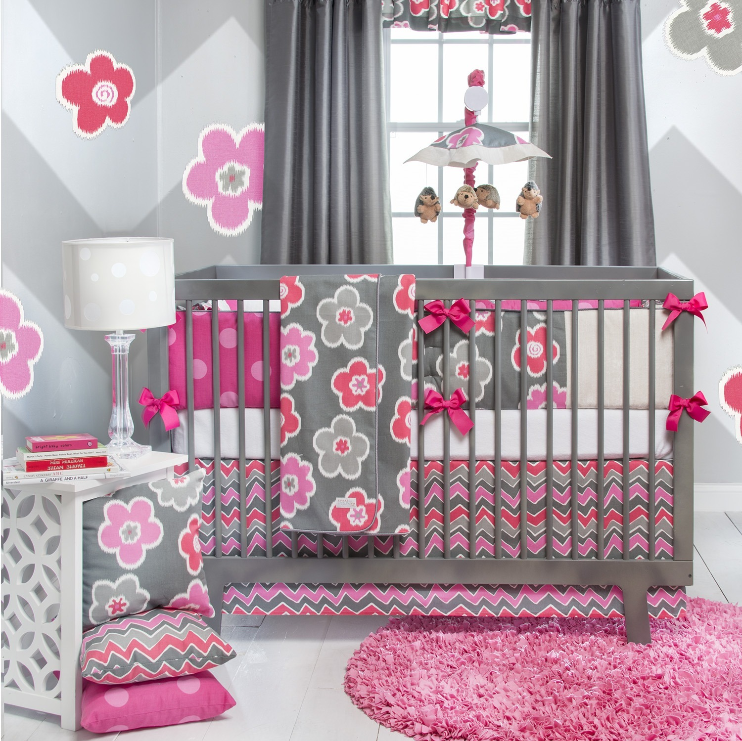 Image of: Girls Baby Bedding