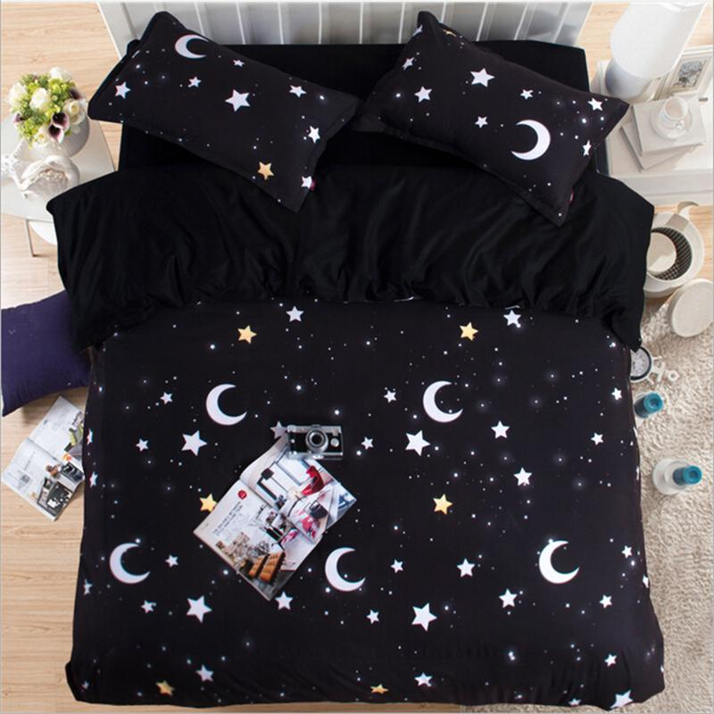 Image of: Moon and Star Bedding