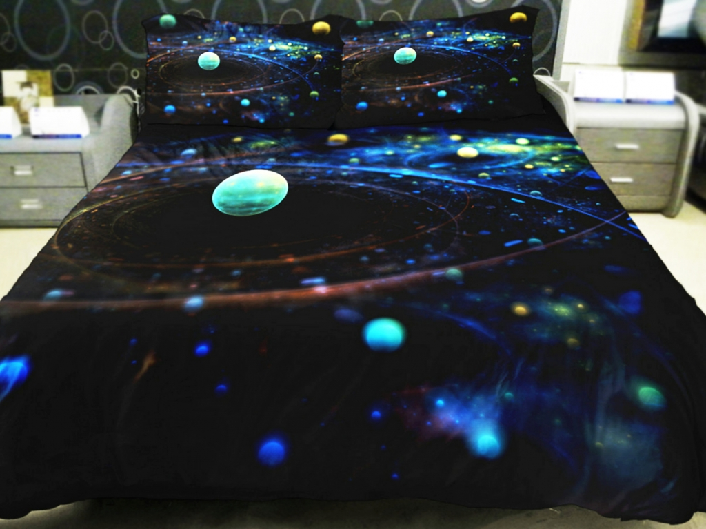 Image of: Moon And Stars Bedding Set Designs
