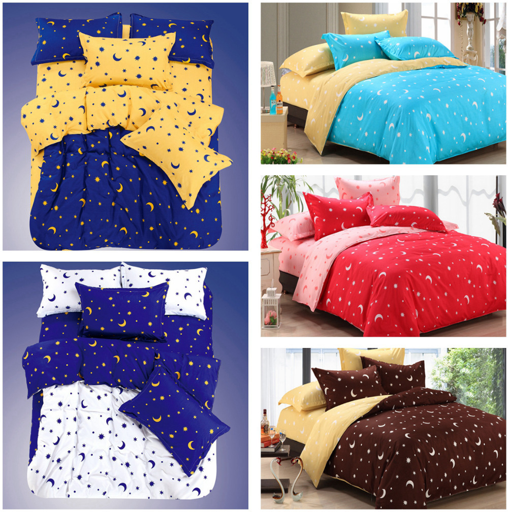 Image of: Moon and Stars Bedding Set Ideas