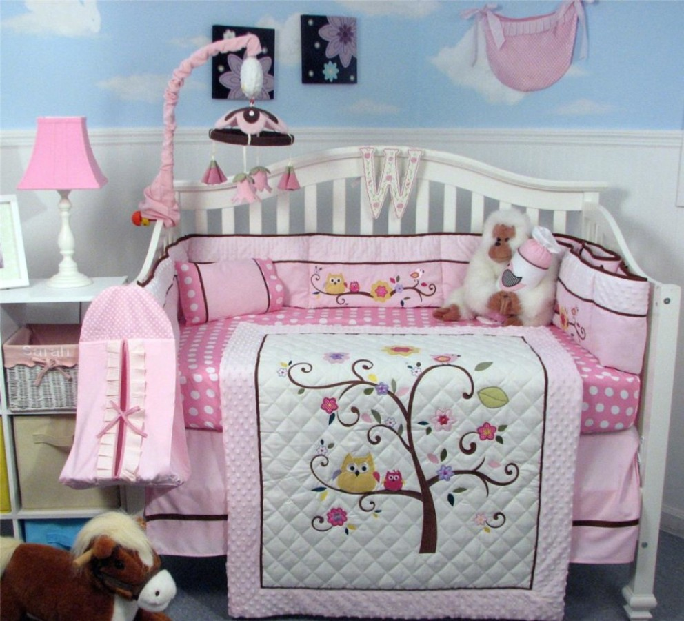 Image of: Owl Baby Bedding Pictures