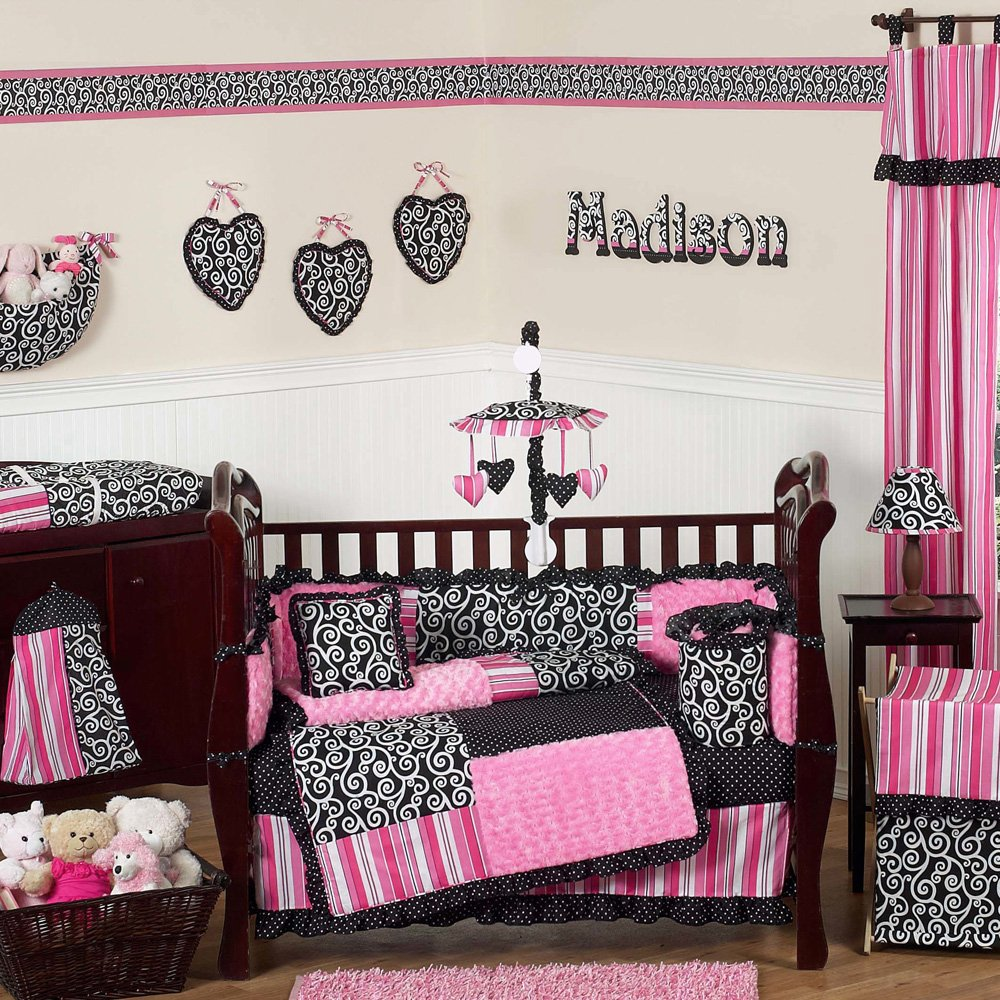 Image of: Perfect Designed Baby Girl Crib Bedding Set Beautiful Baby Crib Bedding Sets For Girls