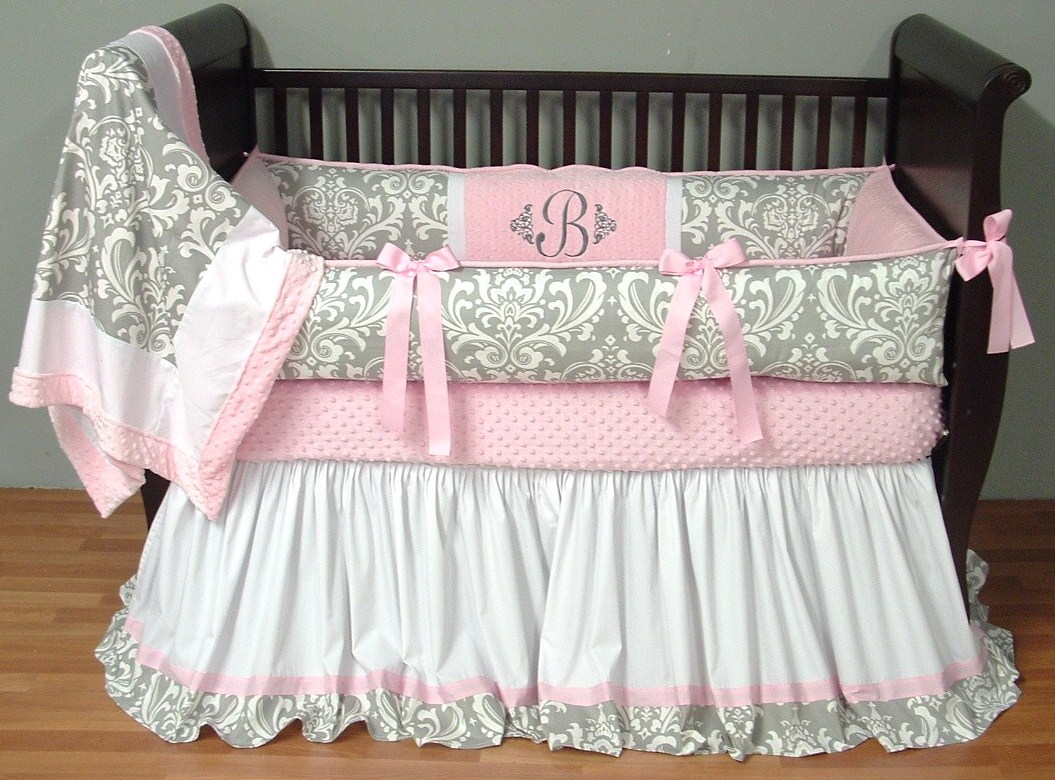 Image of: Pink Baby Bedding