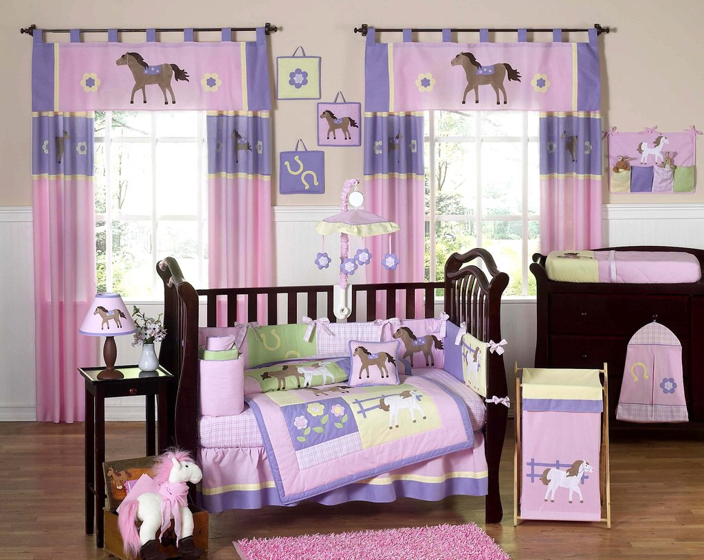 Image of: Pony Crib Bedding 28 Image Pretty Pony Bedding Turquoise Bedding Set For Baby Theme