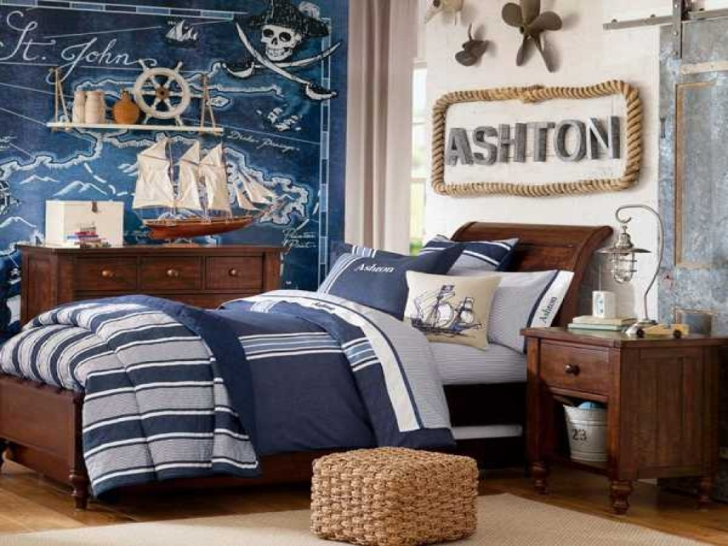 Image of: Pottery Barn Teen Boys Bedding