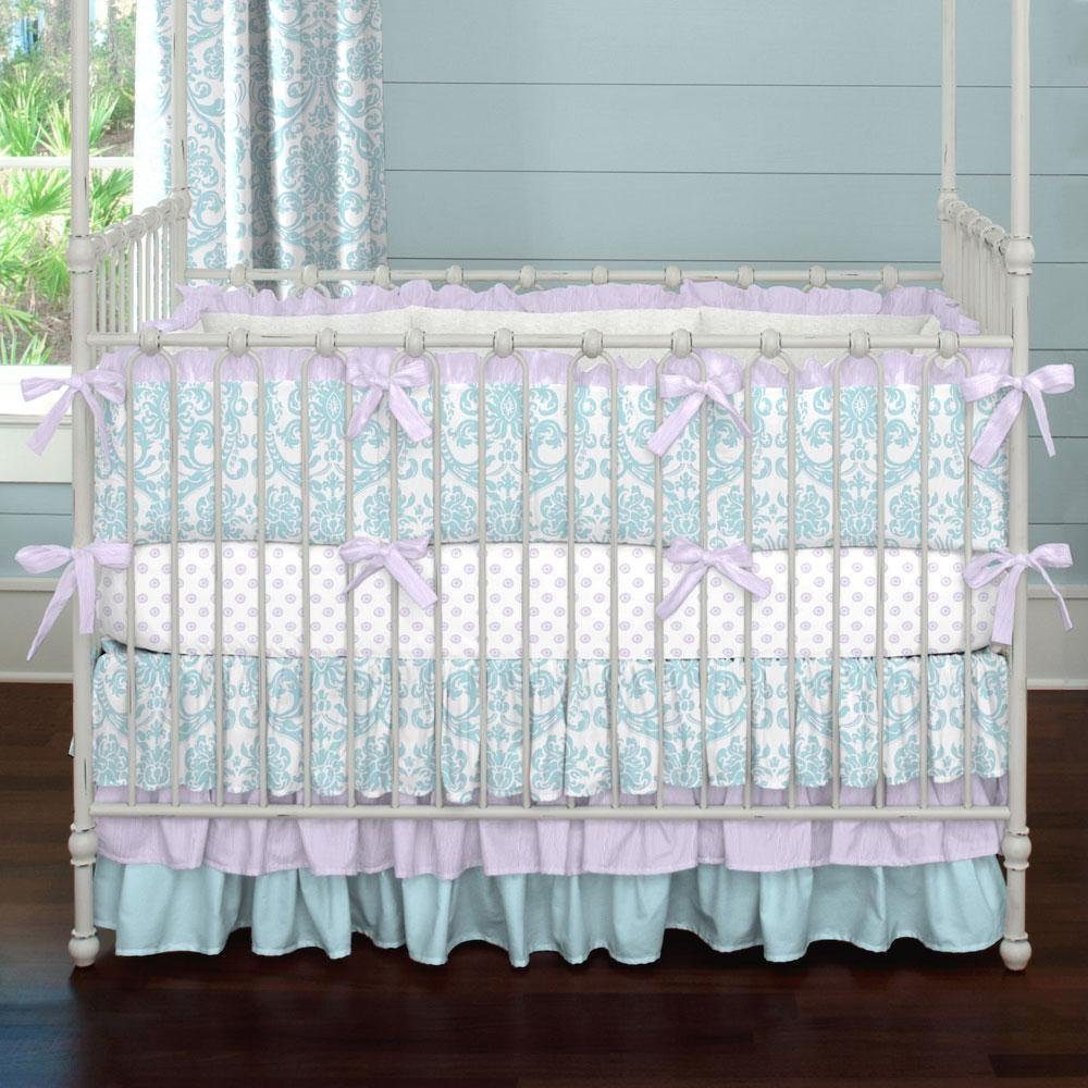 Image of: Purple Crib Bedding 28 Image Purple Baby Bedding Turquoise Bedding Set For Baby Theme