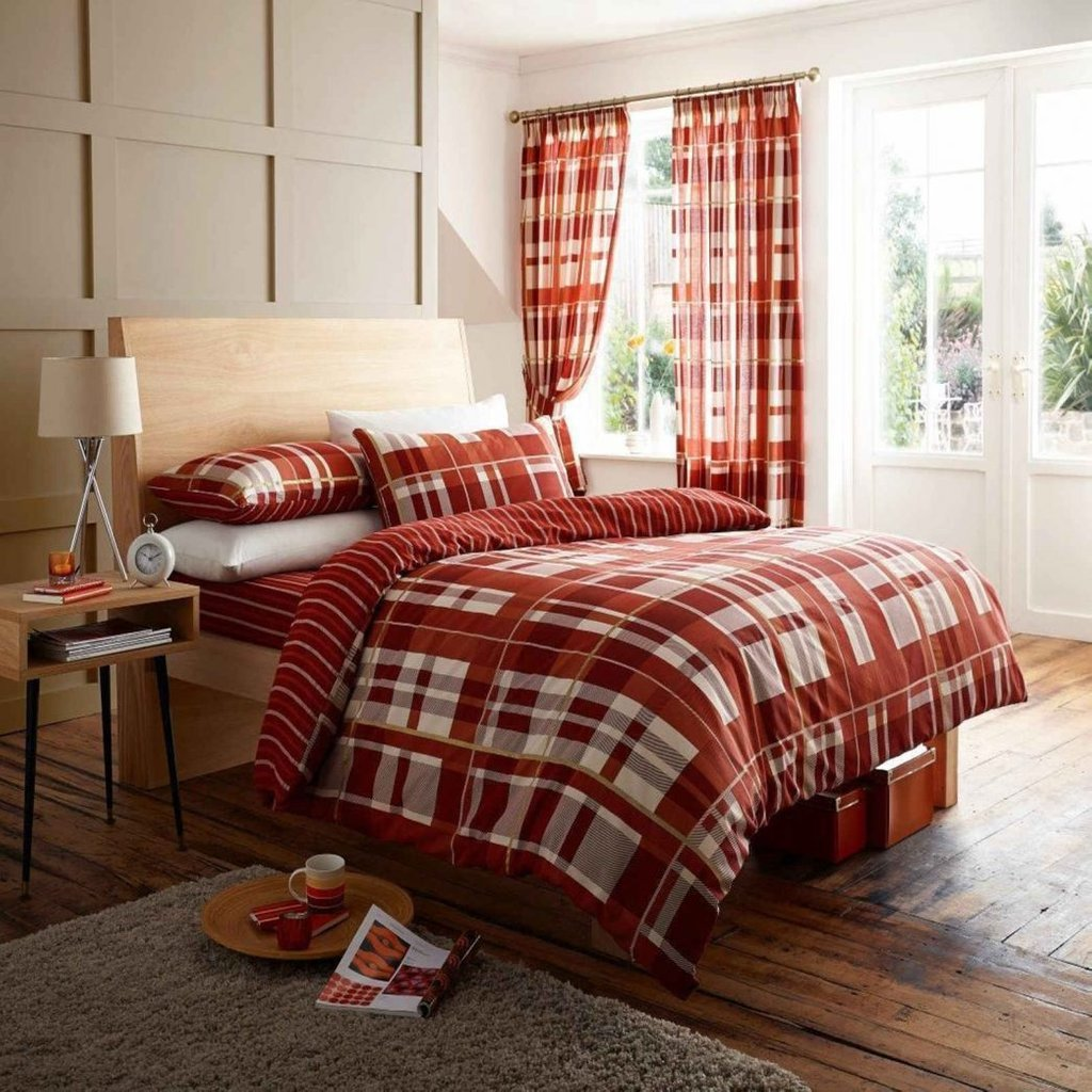 Image of: Red Orange Bedding Plant Yellow Pink Brown Blue Bedroom Pc Nurani Orange Bedding Sets And Covers