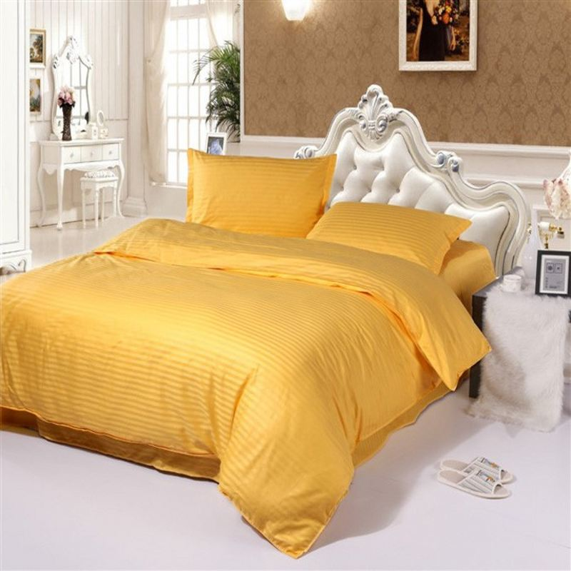 Image of: Royal Yellow Bedding
