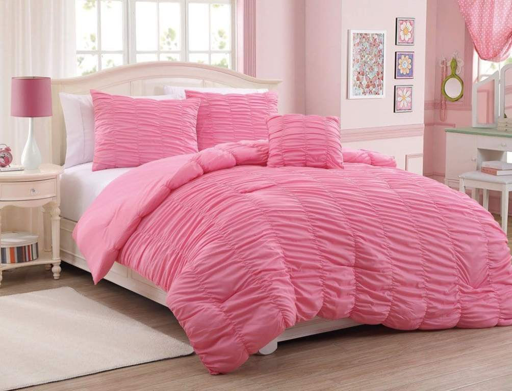 Image of: Ruffle Bedding Shabby Chic