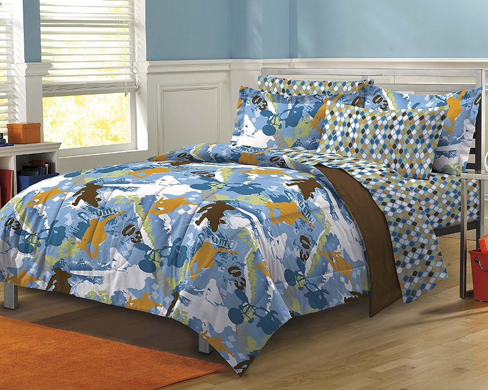 Image of: Teen Boys Bedding Full