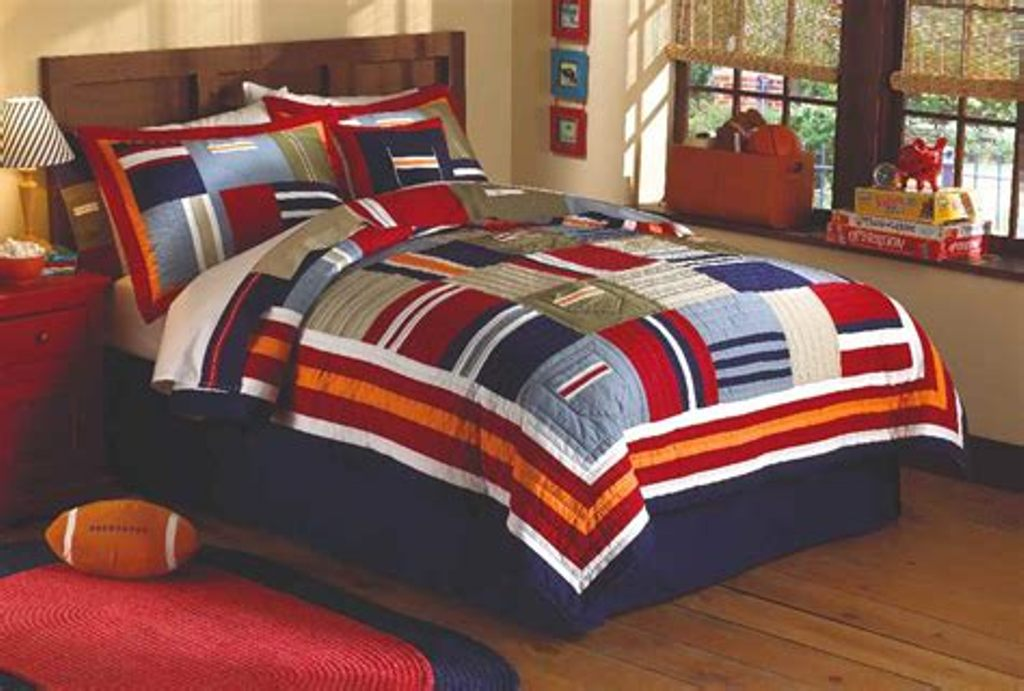 Image of: Teen Boys Bedding Twin
