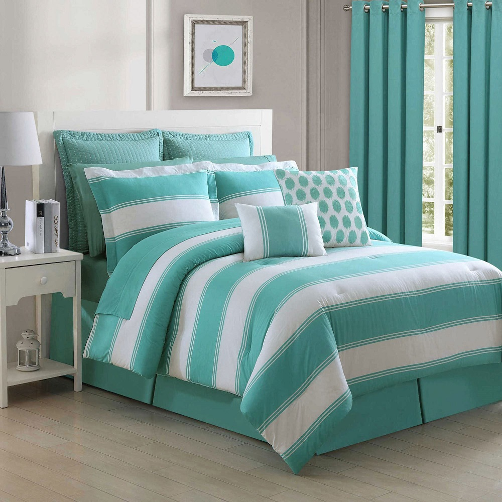 Image of: Turquoise Bedroom Sets