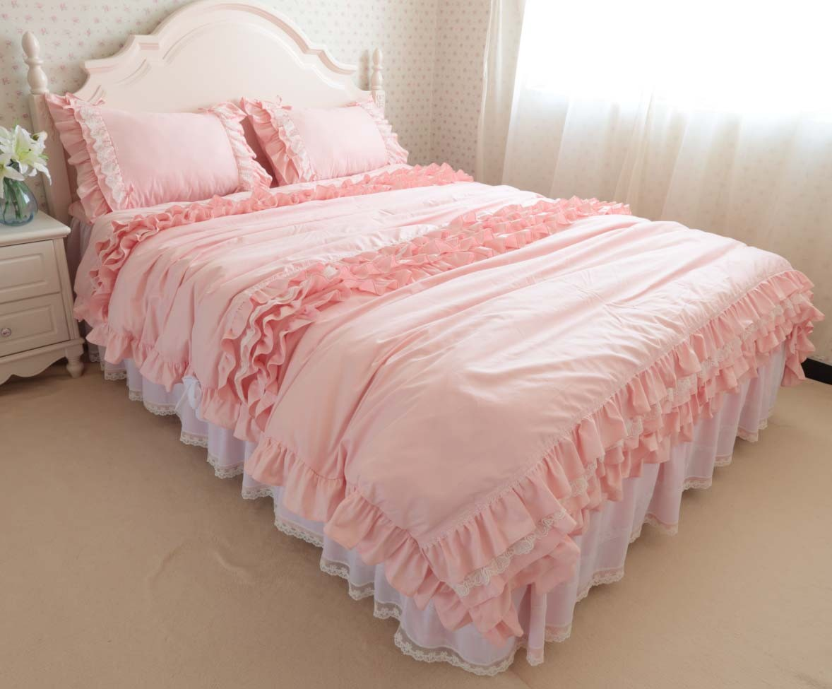 Image of: Vintage Ruffled Bedding