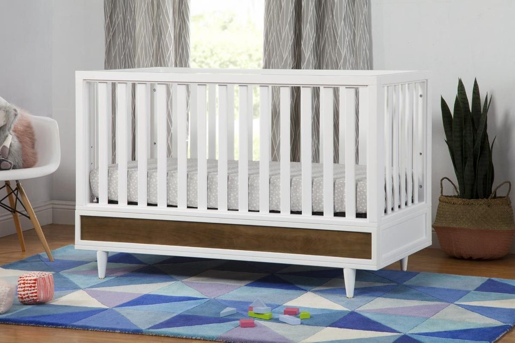 Image of: White Baby Cribs Project Nursery White Baby Crib Yellow Bedding Sets For Baby Bed