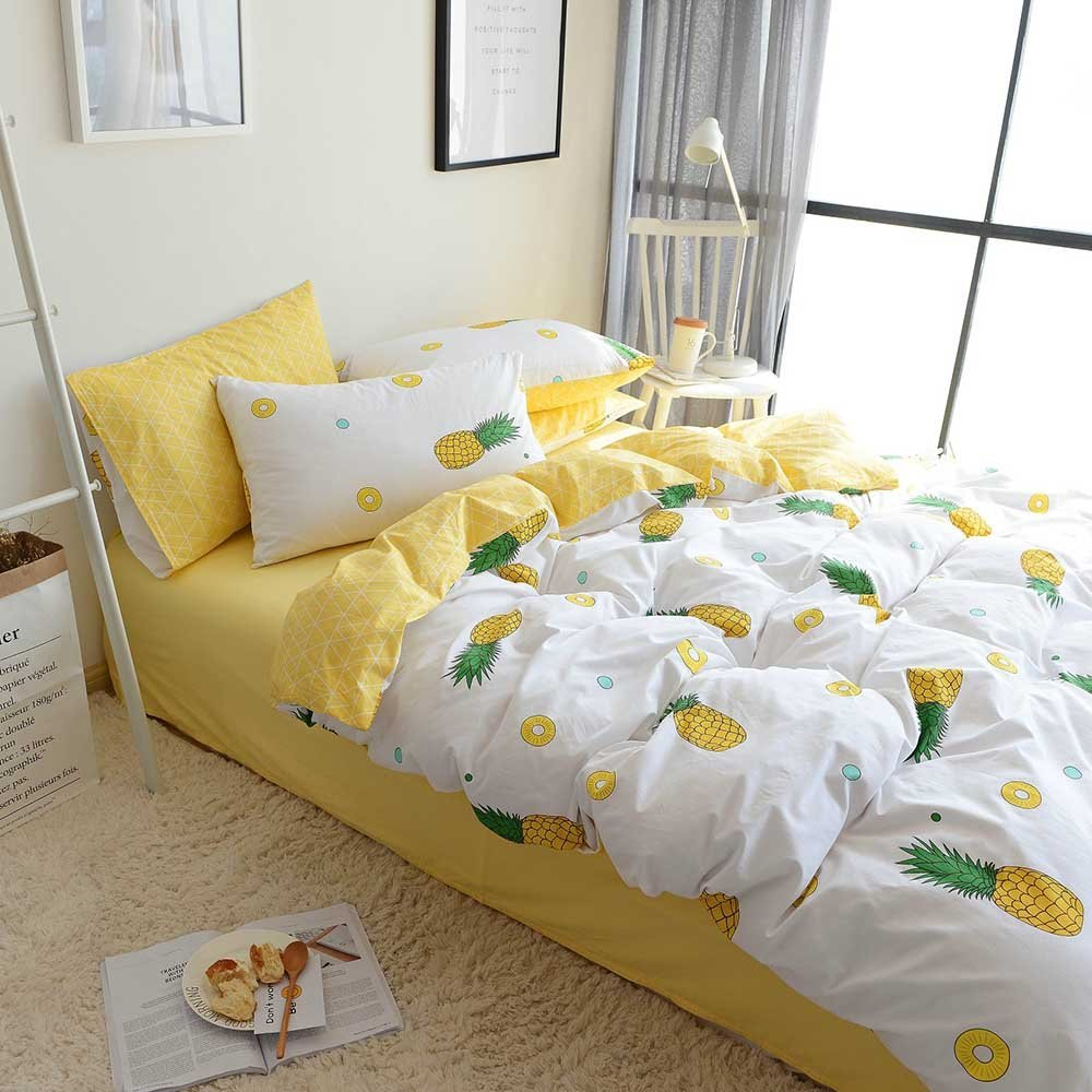 Image of: Yellow Comforter Sets Queen