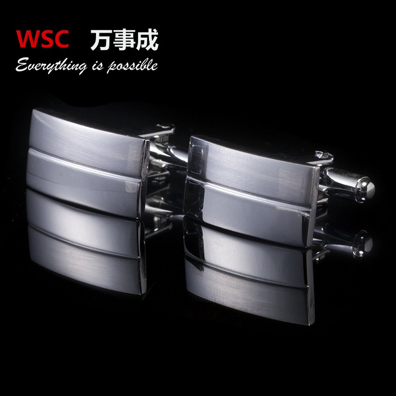 Image of: 2018 Man Cuff Link 13 Style Black Enamel Silver Tone Relax and Escape Japanese Bed Set