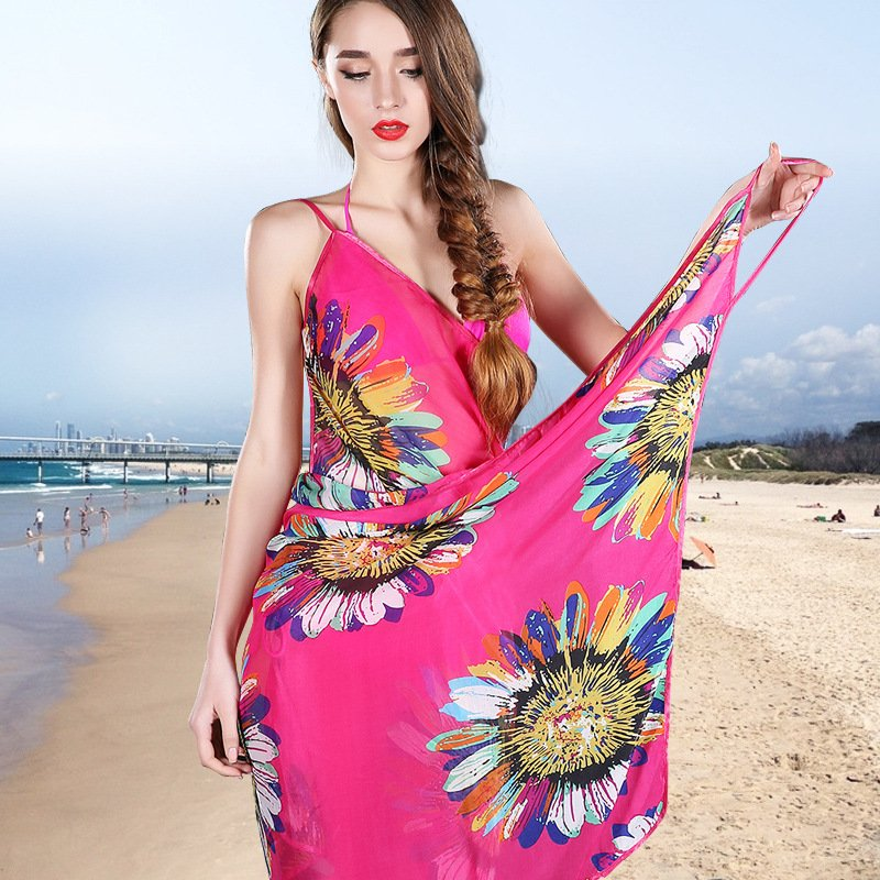Image of: 2018 Summer Woman Beach Cover Lady Thin Sexy Swimsuit Relax and Escape Japanese Bed Set
