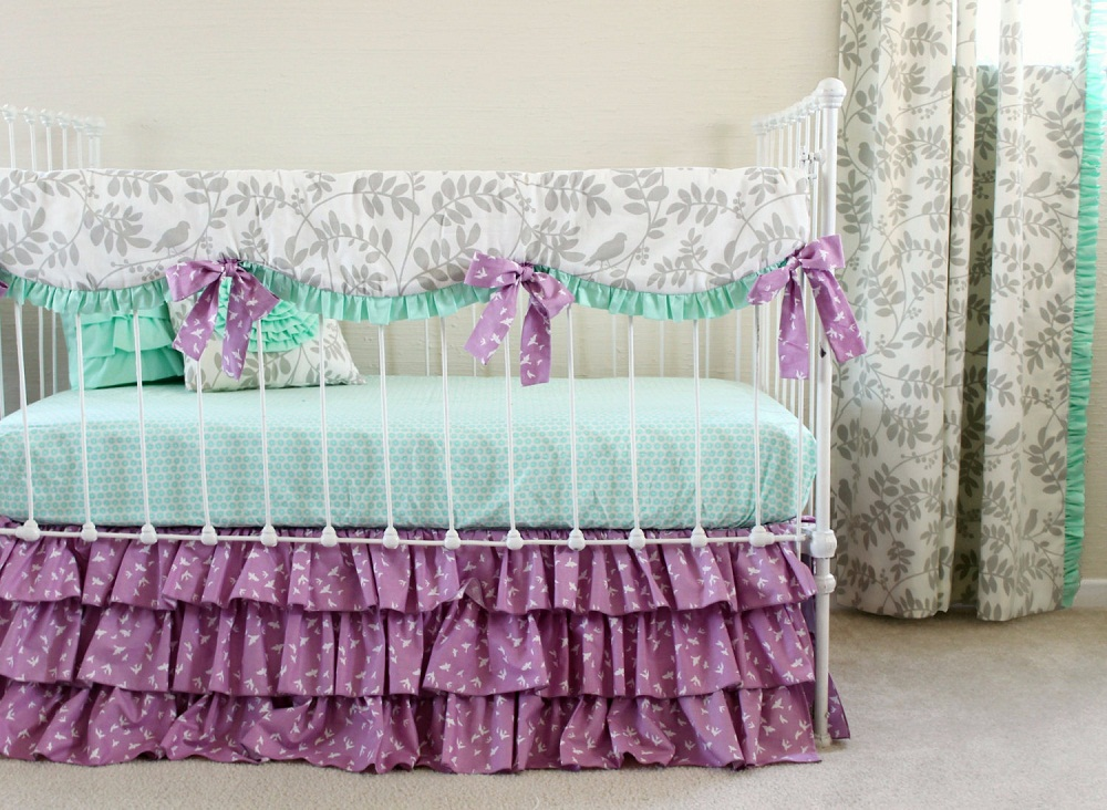 Image of: Affordable Beauty Baby Bedding Sets
