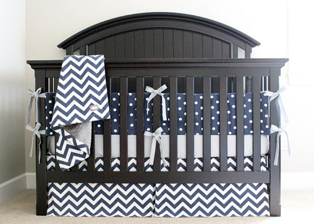 Image of: Anchor Baby Bedding Girl Suntzu King Bed Unique Nautical Nursery Bedding Ideas