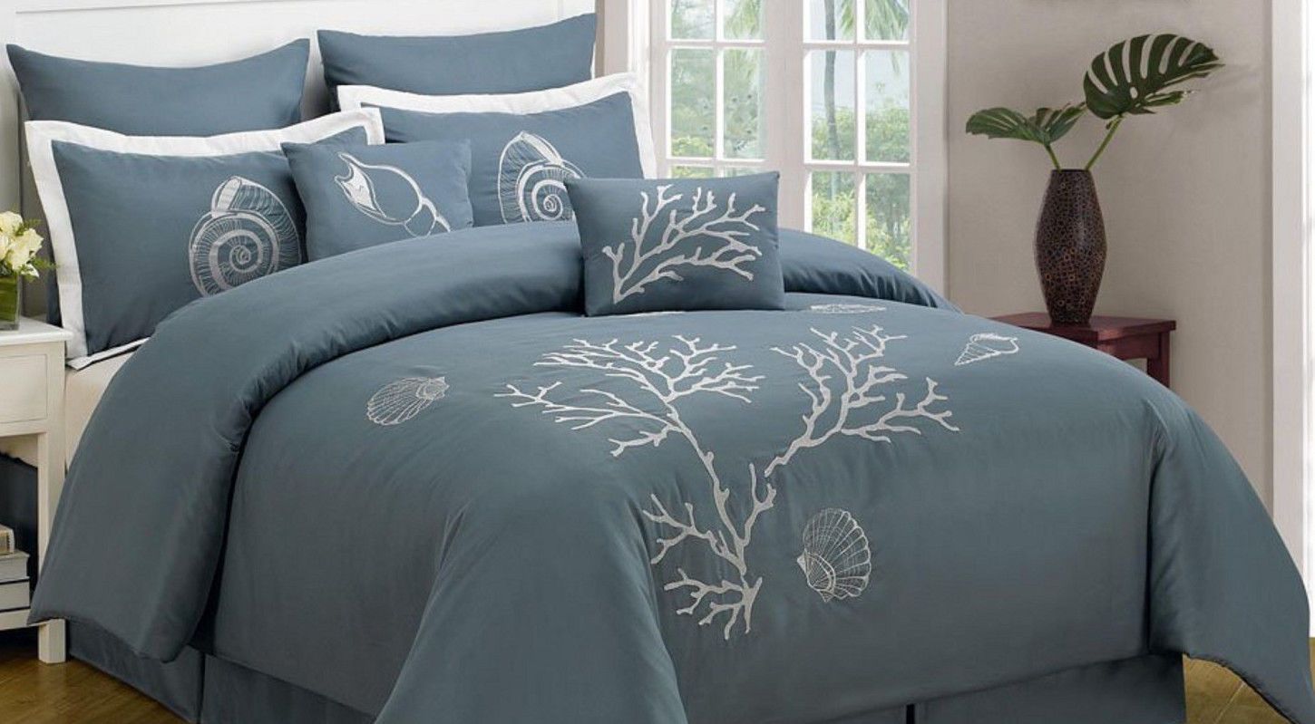 Image of: Beach Inspired Bedding