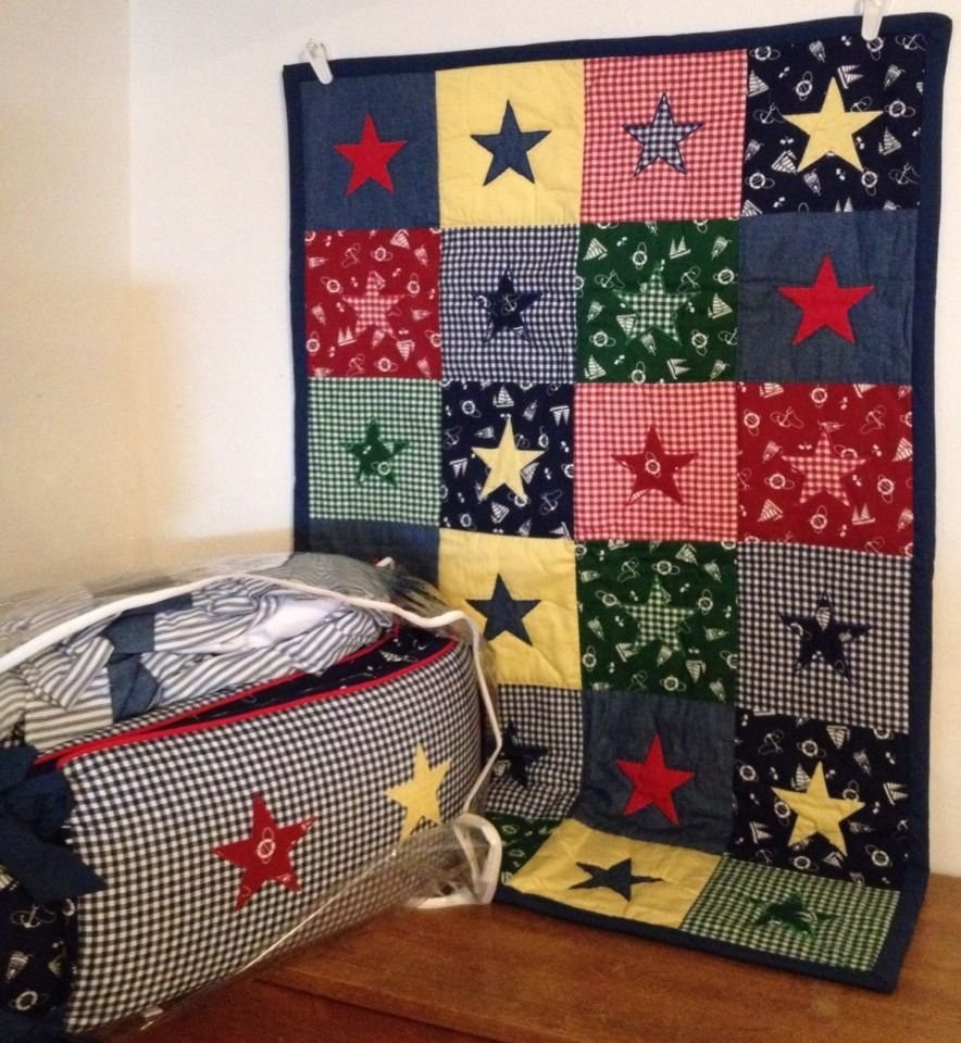 Image of: Boutique House Hatten Sailboat Crib Bedding Musical Nautical Nursery Bedding Ideas