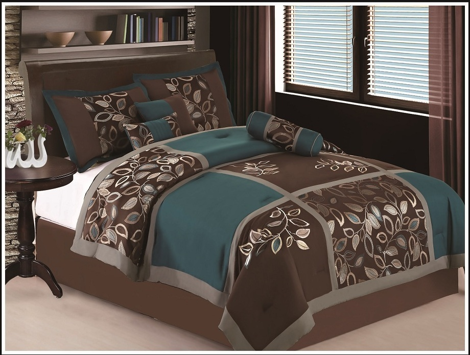 Image of: Brown Bedding Theme