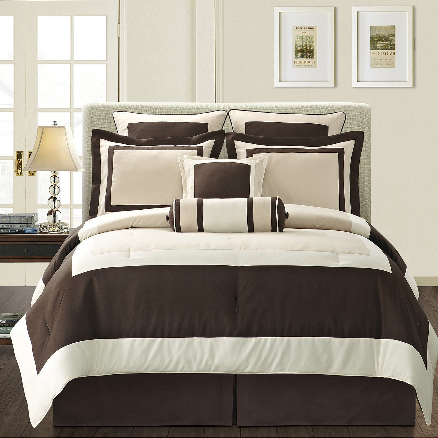 Image of: Brown Comforter Sets King